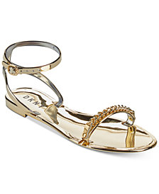 DKNY Mona Ankle-Strap Sandals, Created for Macy's