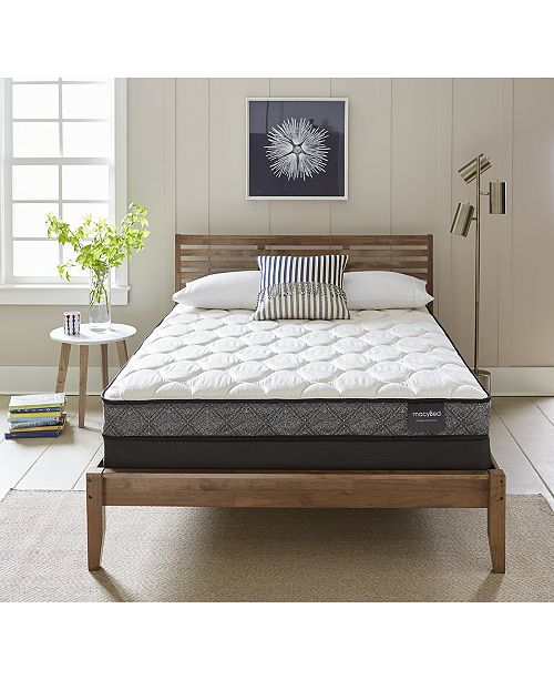 """MacyBed by Serta  Classic 7.5"""" Plush Mattress - Twin XL, Created for Macy's"""