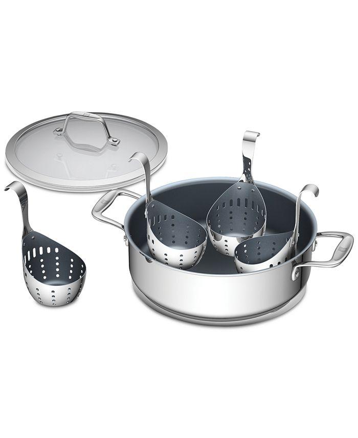 J.A. Henckels - Spirit 6-Pc. Ceramic Universal Pan & Egg Poacher Set