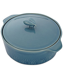 Ayesha Curry Home Collection Stoneware 2.5-Qt. Casserole & Lid