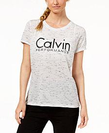 Calvin Klein Performance Metallic-Logo T-Shirt