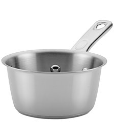 Ayesha Curry Home Collection 1-Qt. Stainless Steel Saucepan