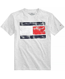 Tommy Hilfiger Tommy Flag Graphic-Print T-Shirt, Big Boys