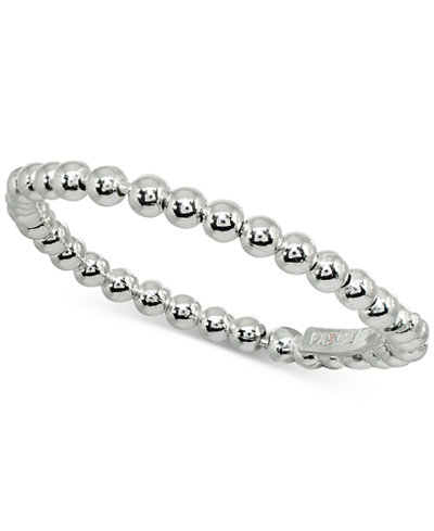 Giani Bernini Beaded Band in Sterling Silver, Created for Macy's