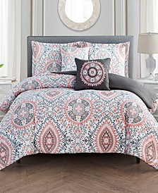 Juliana 5-Pc. King Comforter Set