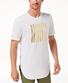 I.N.C. Men's Gold Foil T-Shirt, Created for Macy's