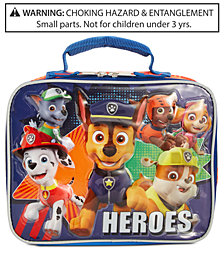 PAW Patrol Little & Big Boys Heroes Insulated Lunch Bag