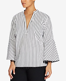 Lauren Ralph Lauren Plus Size Cotton Top