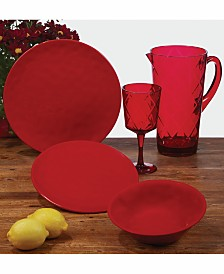 Certified International Ruby Dinnerware
