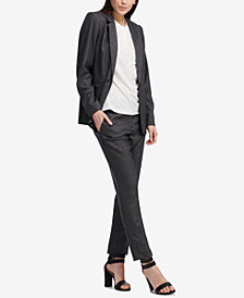 DKNY Pic-Stitch Jacket & Skinny Pants, Created for Macy's