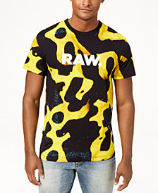 G-Star Raw Men's Graphic Logo Print T-Shirt