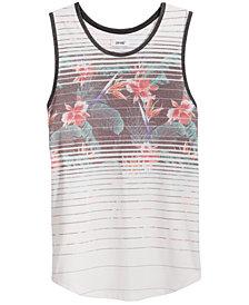 Univibe Men's Floral Print Tank Top