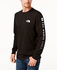 The North Face Men's Logo Long-Sleeve T-Shirt