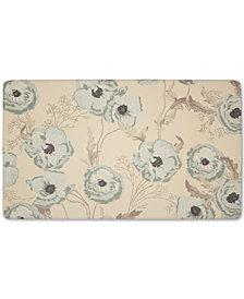 "Laura Ashley Poppy Meadow Primrose Anti-Fatigue Gelness 20"" x 32"" Kitchen Mat"