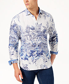 Tommy Bahama Men's Mariachi Mirage Printed Linen Shirt