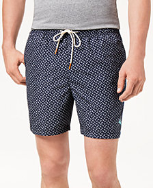 "Tommy Bahama Men's Naples A-Fish-Ianado Print 6"" Swim Trunks"