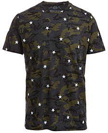 American Rag Men's Camo Star T-Shirt, Created for Macy's