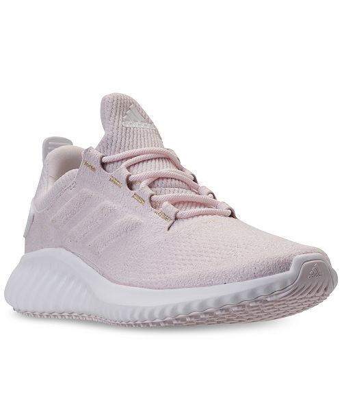 388822b10 adidas Girls  AlphaBounce CR Running Sneakers from Finish Line ...