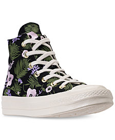 Converse Unisex Chuck Taylor All Star 70 Palm Print High Top Casual Sneakers from Finish Line