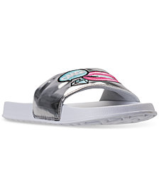 Bare Traps Little Girls' Lindsay Slide Sandals from Finish Line