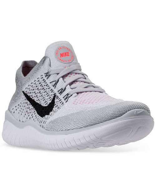 d716802a10b Nike Men s Free Run Flyknit 2018 Running Sneakers from Finish Line ...