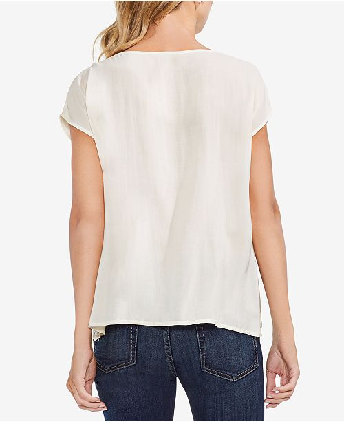 Pineapple Vince Camuto Eyelet Top Scalloped xU4wrqgUn8