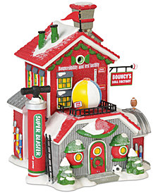 Department 56 Villages Bouncy's Ball Factory