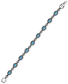 Turquoise Tennis Bracelet (5-1/2 ct. t.w.) in Sterling Silver