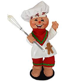 Annalee Gingerbread Chef Figurine