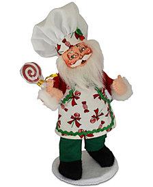 Annalee Chef Santa Figurine