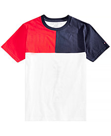 Tommy Hilfiger Little Boys Colorblocked Cotton T-Shirt