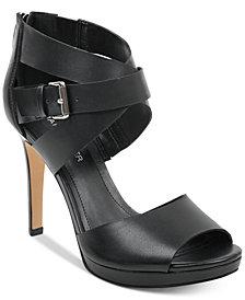 Marc Fisher Marnia Crossband Dress Sandals