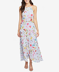 RACHEL Rachel Roy Flora Printed Ruffled Maxi Dress, Created for Macy's