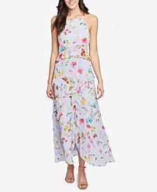 RACHEL Rachel Roy Flora Printed Ruffled Maxi Dress, Created for Macy's