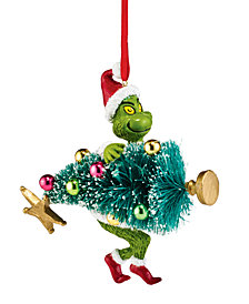 Department 56 Grinch Stealing Tree Ornament