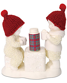 Department 56 Snowbabies Cold Days, Warm Cocoa Figurine
