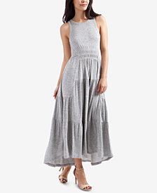 Lucky Brand Pleated Maxi Dress
