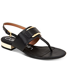 Calvin Klein Women's Freida Embellished Sandals