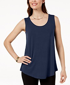Scoop Neck Tank Top, Created for Macy's