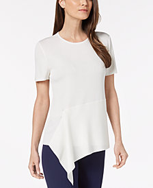 Anne Klein Asymmetrical Sweater