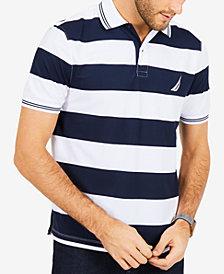 Nautica Men's Striped Polo Classic-Fit Shirt
