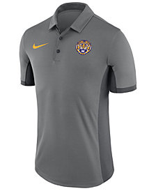 Nike Men's LSU Tigers Alternate Logo Evergreen Polo