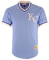 142f6090c Mitchell   Ness Men s Kansas City Royals Mesh V-Neck Jersey