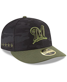 New Era Milwaukee Brewers Memorial Day Low Profile 59FIFTY FITTED Cap