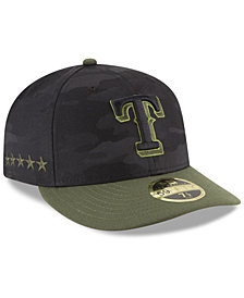New Era Texas Rangers Memorial Day Low Profile 59FIFTY FITTED Cap