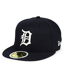 New Era Boys' Detroit Tigers Authentic Collection 59FIFTY FITTED Cap