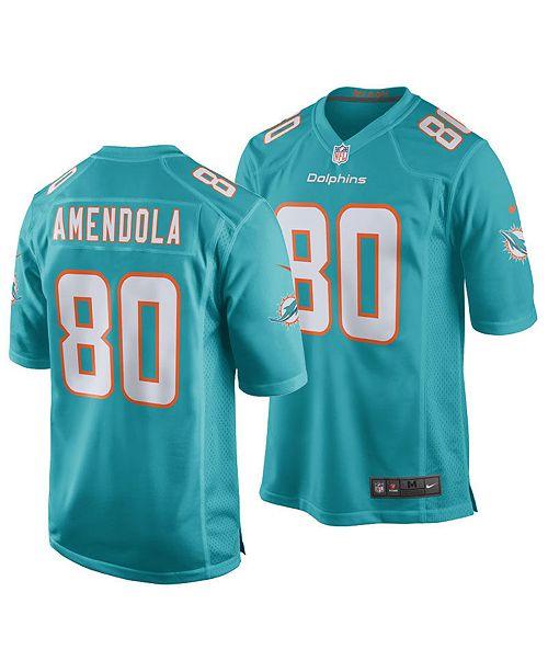 pretty nice 7e224 c7cdc Nike Men's Danny Amendola Miami Dolphins Game Jersey ...