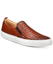 Kenneth Cole New York Men's Grifyn Weave Leather Slip-Ons