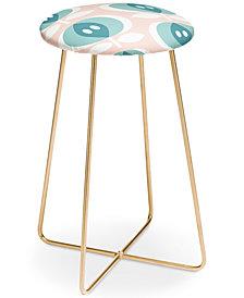 Deny Designs Caroline Okun Fjalla Petal Pink Counter Stool