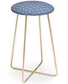 Deny Designs Natalie Baca Catalina Blue Counter Stool